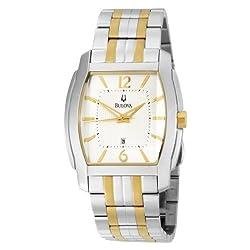 Bulova Men's 98B109 Two-Tone Stainless Steel Bracelet Watch