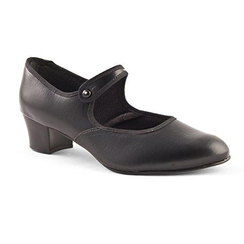 Dance Gear Character Shoes Cuban Heel PVC size 5