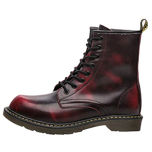 Zainafacai Men's England Vintage Shoes Ankle High-top for sale  Delivered anywhere in Canada
