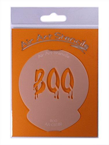 Halloween BOO Cupcake Stencil - Reusable Flexible Food Gr...