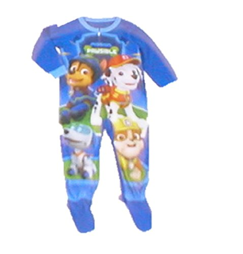Paw Patrol Toddler Boys Footed Pajamas Blanket Sleeper Mission Pawsible (Footed Pajamas Blanket Sleeper)