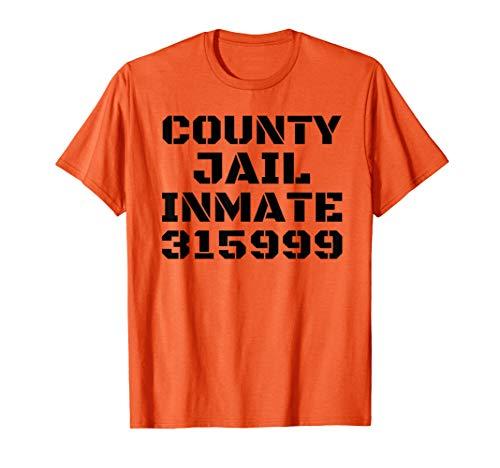 Jail Halloween Makeup (COUNTY JAIL INMATE 315999 Halloween DIY Gift Group)