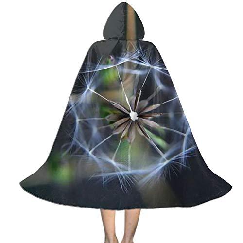 Dandelion Hooded Cloak Long Cape for Christmas