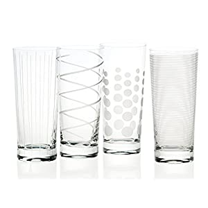 Creative Tops Mikasa Bicchieri da Brindisi Martini, 290 ml, 4 Pezzi Bicchieri da Cocktail Highball Argento 6 spesavip