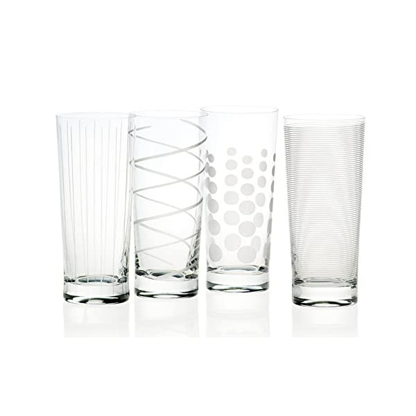 Creative Tops Mikasa Bicchieri da Brindisi Martini, 290 ml, 4 Pezzi Bicchieri da Cocktail Highball Argento 1 spesavip