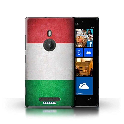 Kobalt® Imprimé Etui / Coque pour Nokia Lumia 925 / Italie/italien conception / Série Drapeau