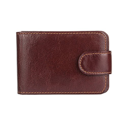 Great wallet gowever its more of a credit card holder. Not a big enough spot to hold bills without folding them up