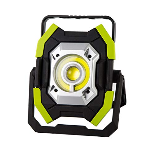 INQUIRY 2500LM 30W LED Rechargeable Work Light with Stand, Built-in 8000mAh Lithium Batteries, Waterproof ()