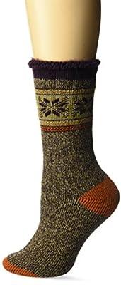 Muk Luks Women's 1-Pair Heat Retainer Thermal Socks