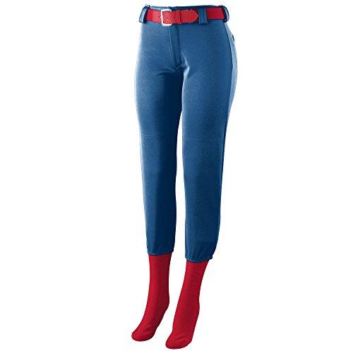 (Augusta Sportswear 101850 A Women's Homerun Low Rise Softball Pant, Navy, Medium)
