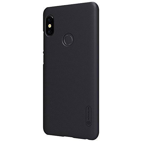 NAVT Calidad cáscara de la Funda case cover protectora de alta dura para Xiaomi Redmi Note 5 Pro smartphone +1* Protector de pantalla (dorado) negro
