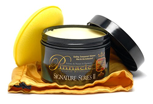 Pinnacle Natural Brilliance PIN-310 Signature Series II Carnauba Paste Wax, 8 fl. oz.