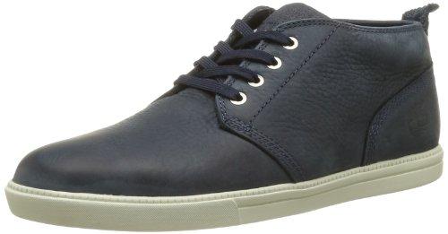 Timberland Eknmrktlp Chk Navy N Blue, Sneaker Uomo Blu (Blau (Blue))