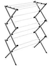 Honey Can Do Collapsible Clothes Drying Rack DRY-09065 White / Grey