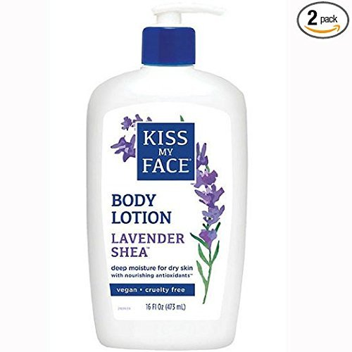 Kiss My Face Moisturizer Lavender & Shea Butter 16 oz - Moisturizer Kiss Face Butter My