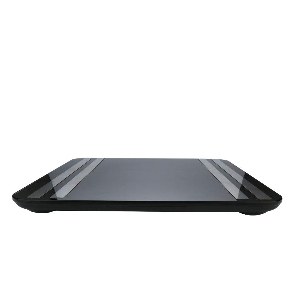 JinJin Scale Bluetooth Body Scale Smart Scale Digital Bathroom Wireless Weight Scale iOS & Android APP for Body Weighc (black) by Jinjin (Image #3)