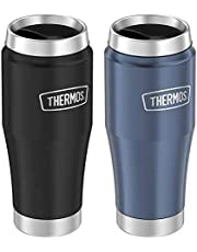Thermos Stainless Steel Thermal Mug, 2-pack Blue