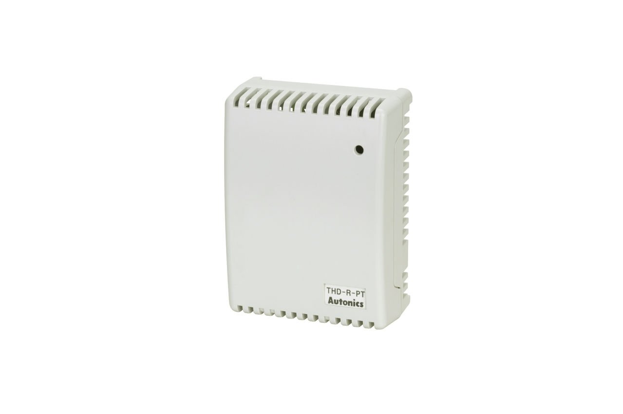 Autonics THD-R-PT Temp/Humidity Transducer, Room type, 24 VDC Supply, RTD(PT100), 0-50 celcius,Temp/Humidity Transducer, Room type, 24 VDC Supply, RTD(PT100), 0-50 celcius,