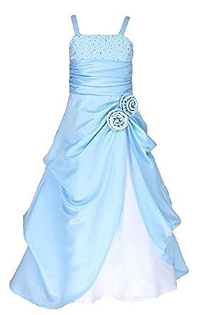 d3e569c4aebfb Fairy Dolls Girls Party Wear Ball Gown, Frozen Elsa Dress: Amazon.in ...