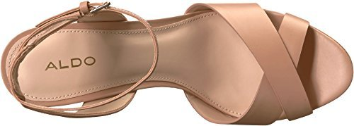 Aldo Women's Taerien Flat Sandal, Light Pink, 6 B US