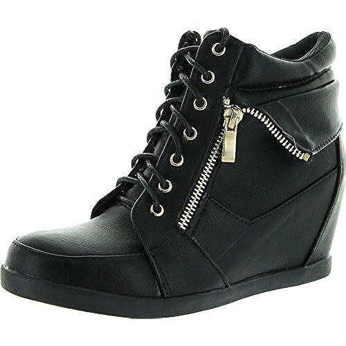 sneaker heels wedge heels zone
