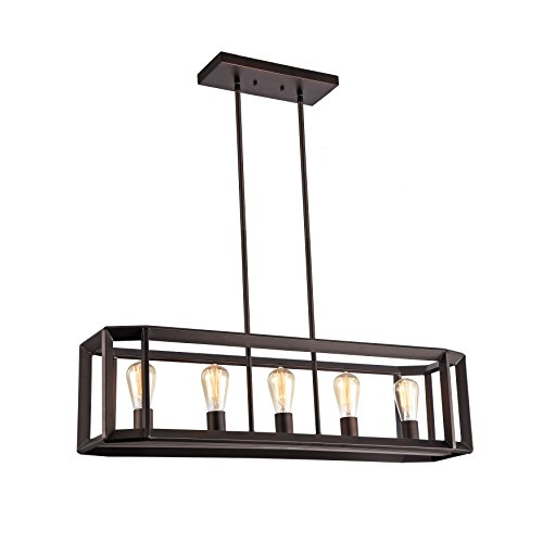 Brown Pendant Light - 7