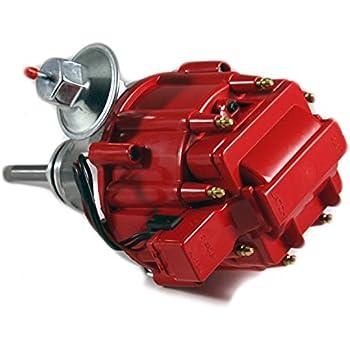 Amazon com: Top Street Performance JM6513R HEI Distributor with Red