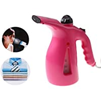 DivineXt Fast Heat-Up Portable Garment Steamer Iron for Clothes and Facial Vapour (Multicolour)