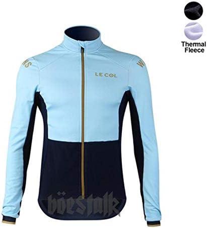 HappyL Radtrikot Winter Fleece Langarm-Radbekleidung Männer Einen.Kreislauf.durchmachenkleidende Maillot Ciclismo Hombre Fahrrad (Color : 02, Size : XL)