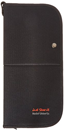 Just Stow It Easel Back Brush Case, Black