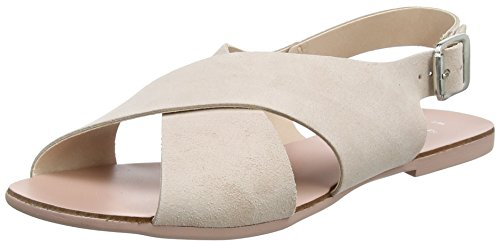 New Look WoMen Wide Fit-Henna Ankle Strap Sandals Pink (Light Pink 70)