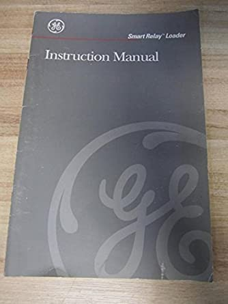 general electric geh 5952 smart relay loader instruction manual rh amazon com general electric refrigerator instruction manual general electric universal remote instruction manual