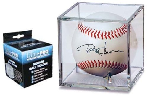 Baseball Acrylic Display Case Holder Cube by Ultra Pro - 6 Count Pack by Ultra Pro