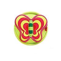 Kiddi Choice Nohoo Neoprene Butterfly Style Round Cross Body Bag,Green
