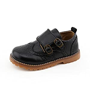 CCTWINS KIDS Toddler Little Kid Girl Boy Dress Oxford Leather...