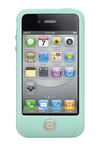 SwitchEasy Colors Pastel Silicone Case for iPhone 4 & 4S - Mint