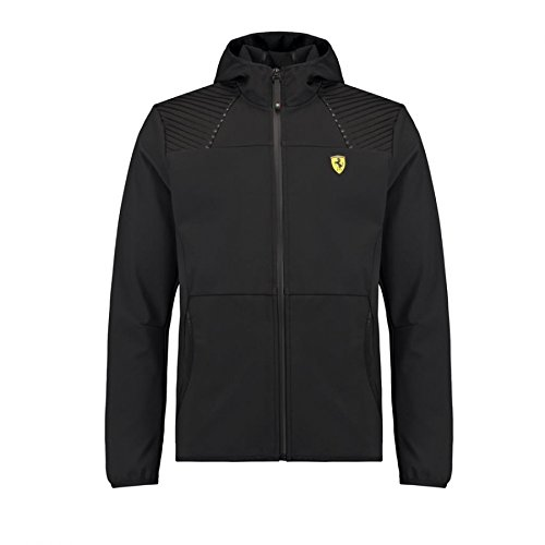Scuderia Ferrari Formula 1 Men's 2018 Black Softshell Jacket ()