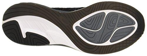 Asics Noosa FF 2, Scarpe da Running Uomo Nero (Black/White/Carbon 9001)