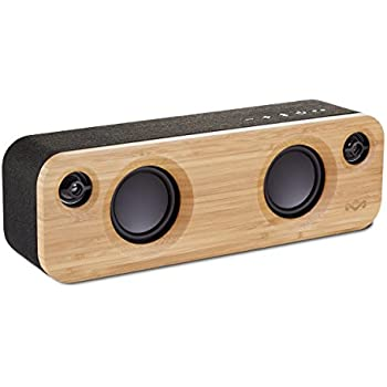 House of Marley EM-JA013-SB Get Together Mini BT Portable Audio System, Signature black