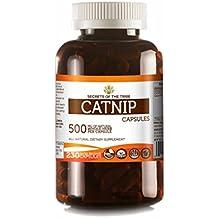 Catnip 230 Capsules, 500 mg, Organic Catnip (Nepeta Cataria) Dried Herb (230 Capsules)