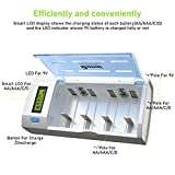 BONAI LCD Universal Battery Charger for