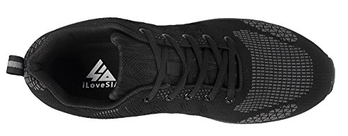 iLoveSIA Men's Trail Running and Walking Shoes - top view
