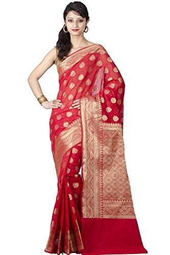 Red Saree - 5