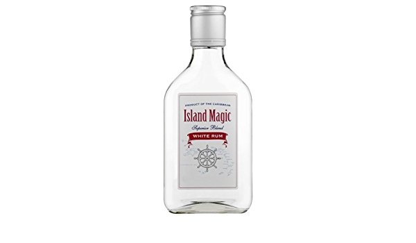 Magic Island 20cl Ron blanco (paquete de 6 x 20 cl): Amazon ...