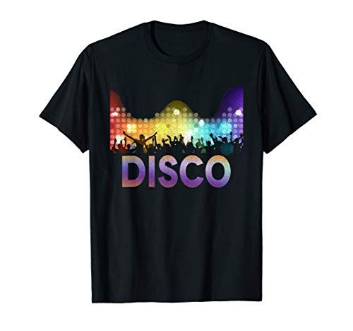 Disco T-Shirt 70s Funk Dance Party Retro Tee Gift -