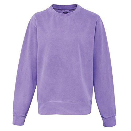 Comfort Colors Womens/Ladies Crew Neck Sweatshirt (L) (Violet)