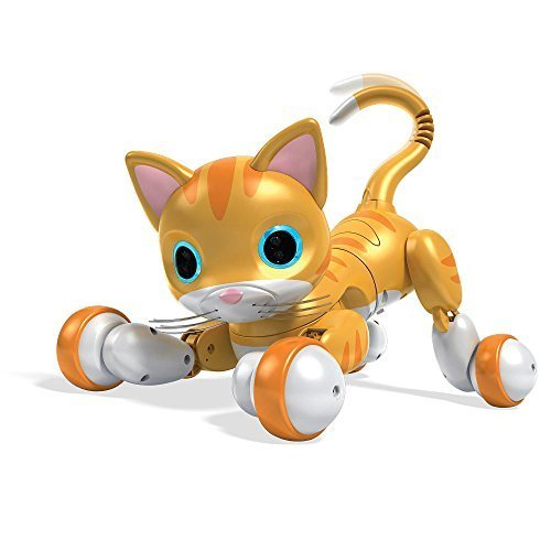 Zoomer Kitty - Whiskers the Orange Tabby by Spin Master