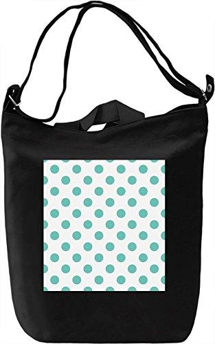 Bubbles Print Borsa Giornaliera Canvas Canvas Day Bag| 100% Premium Cotton Canvas| DTG Printing|