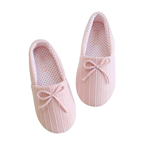 Diabetic Edema Pink Shoes On Comfort Memory Breathable Slip House Pregnant Foam Slippers Women's for qHBZapcPZ
