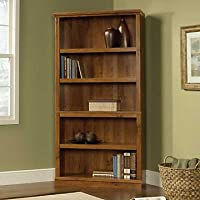 Abbey Oak Five Shelf Bookcase